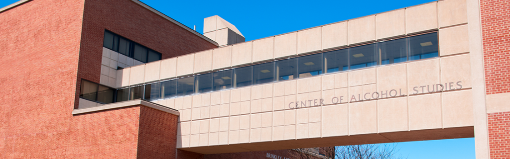 Image of the center for alcohol studies at rutgers